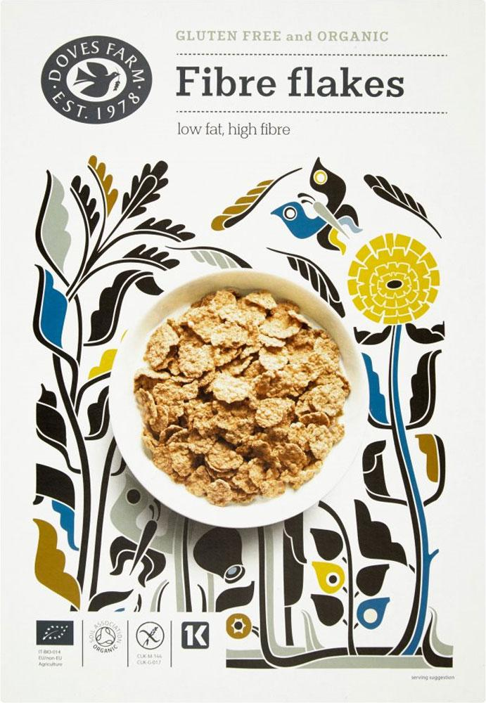 Doves Farm Organic Fibre Flakes 300g
