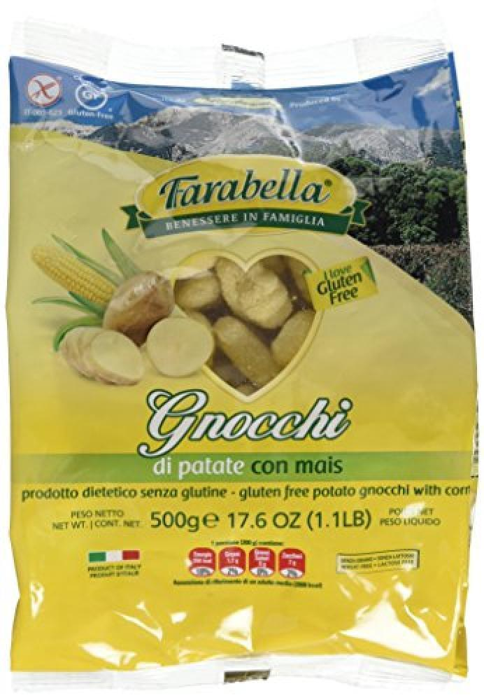 Farabella Gluten Free Fresh Potato Gnocchi with Corn 500g