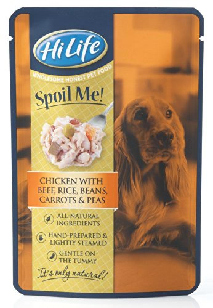 HiLife Spoil Me Dog Food Chicken Beef Rice and Vegetables 100g