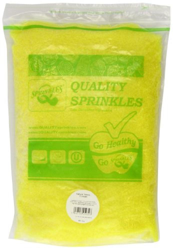 Twist Ingredients Sprinkles Yellow Natural Sugar Crystals 2 kg