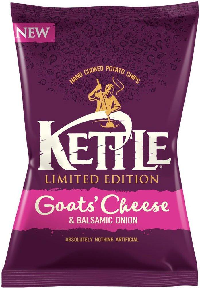 Kettle Chips Goats Cheese and Balsamic Onion 150g