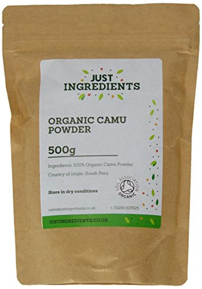JustIngredients Organic Camu Dried Powder 500 g