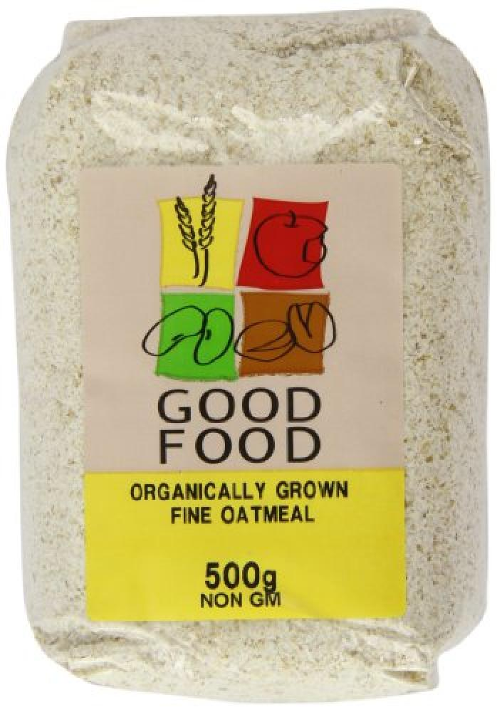 Mintons Good Food Organically Grown Fine Oatmeal 500g