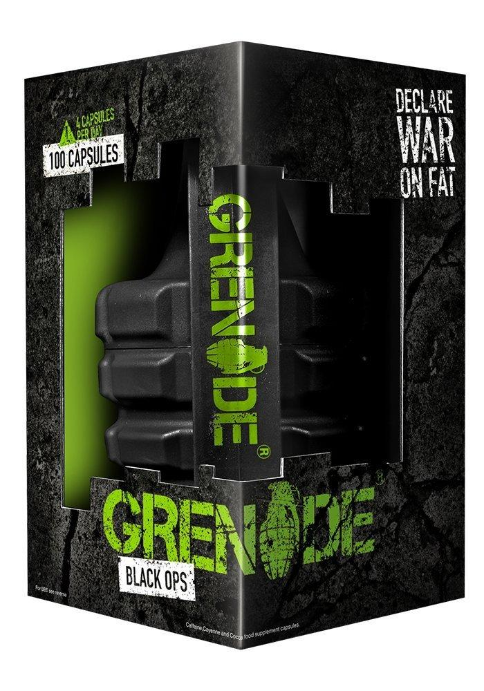 Grenade Black Ops Weight Management 100 Capsules
