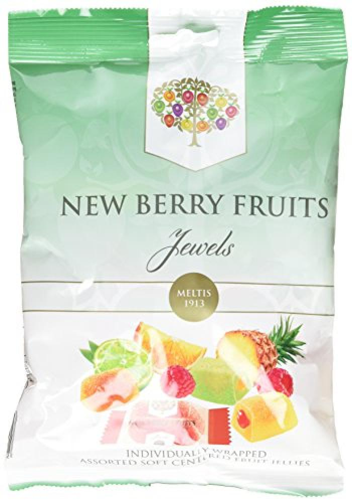 Meltis New Berry Fruit Jewels in a Bag 160 g