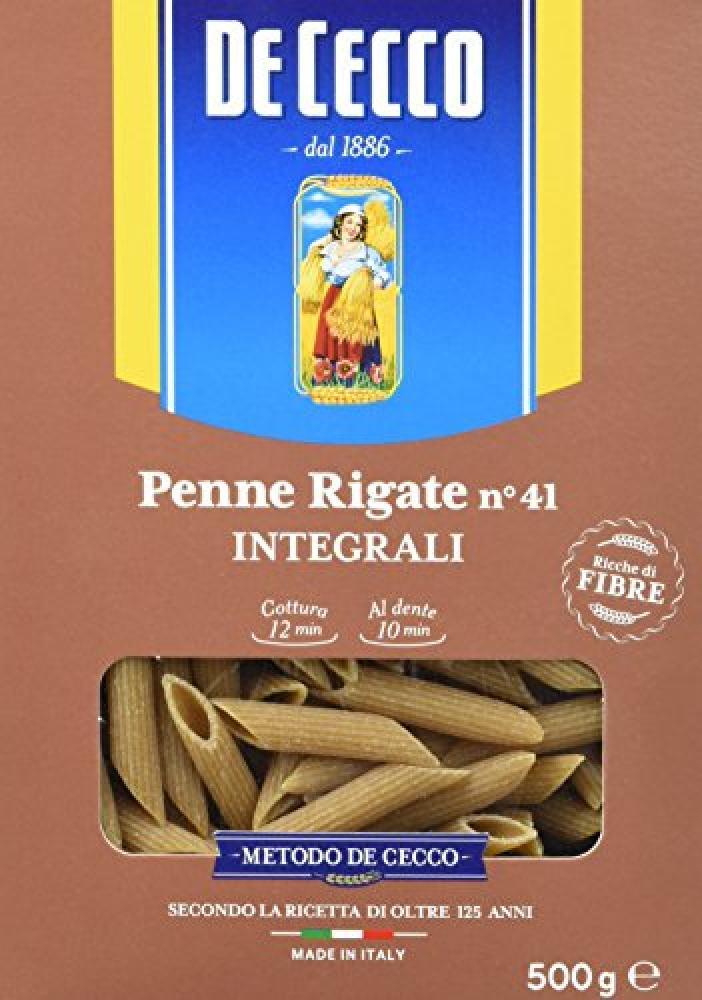 De Cecco Wholemeal Wheat Penne Rigate 500 g