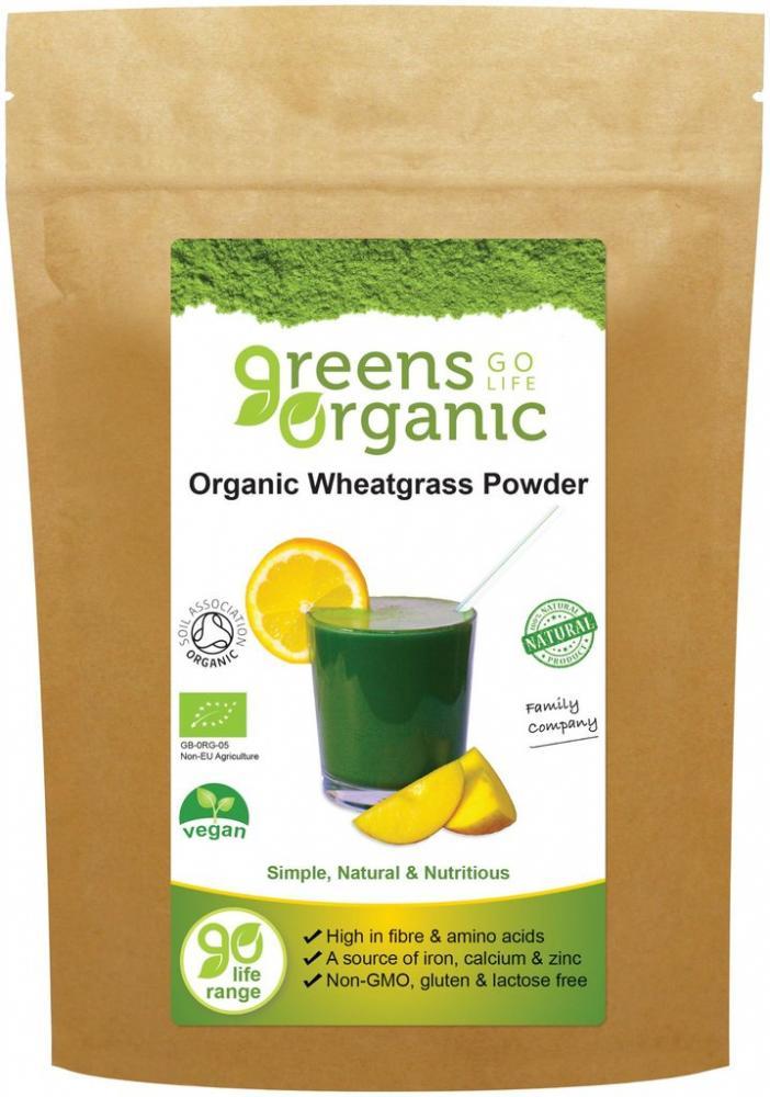 Golden Greens New Zealand Organic Wheatgrass Powder 200g