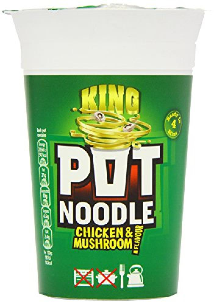 Pot Noodle Chicken and Mushroom Flavour 114g