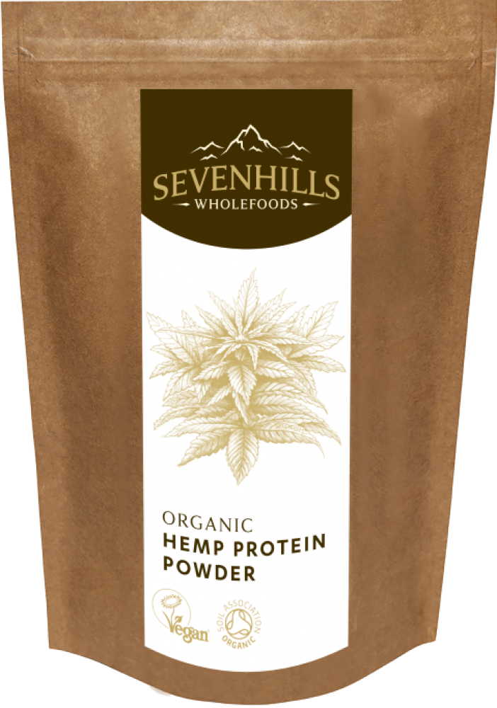 Sevenhills Wholefoods Raw Hemp Protein Powder 150g