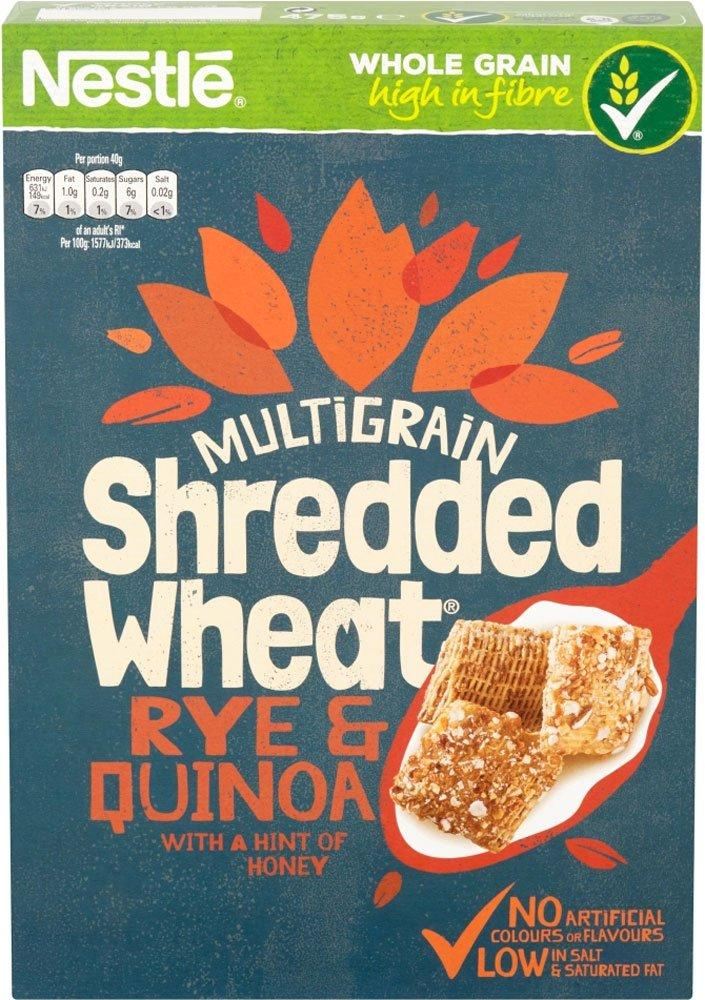 Nestle Shredded Wheat Rye and Quinoa 475g