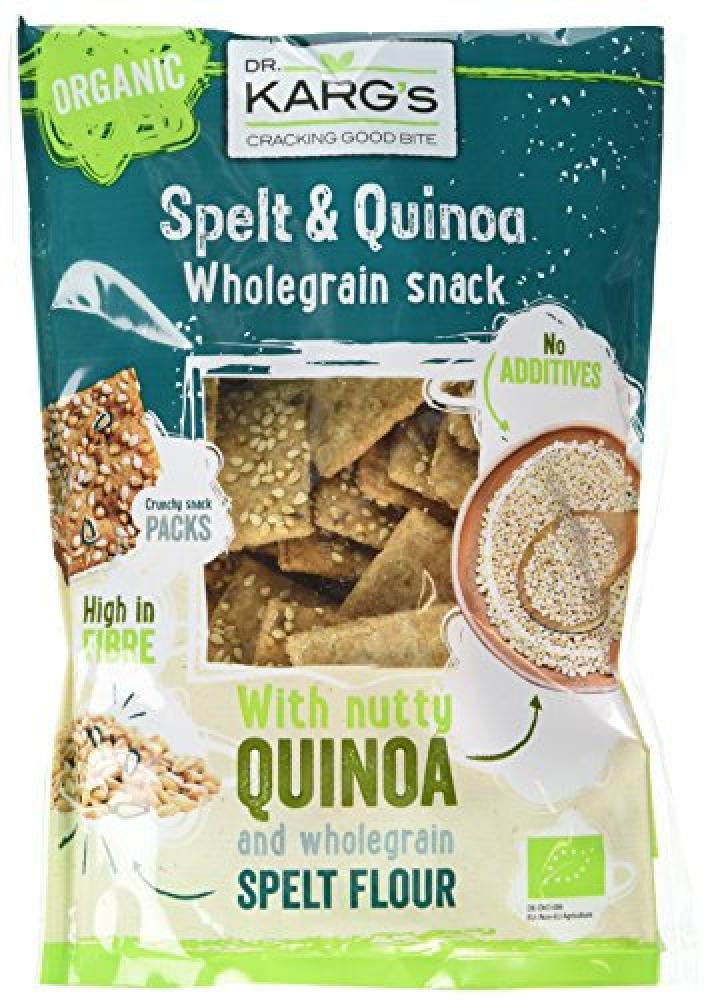 Dr Karg Organic Spelt and Quinoa Snack 110 g