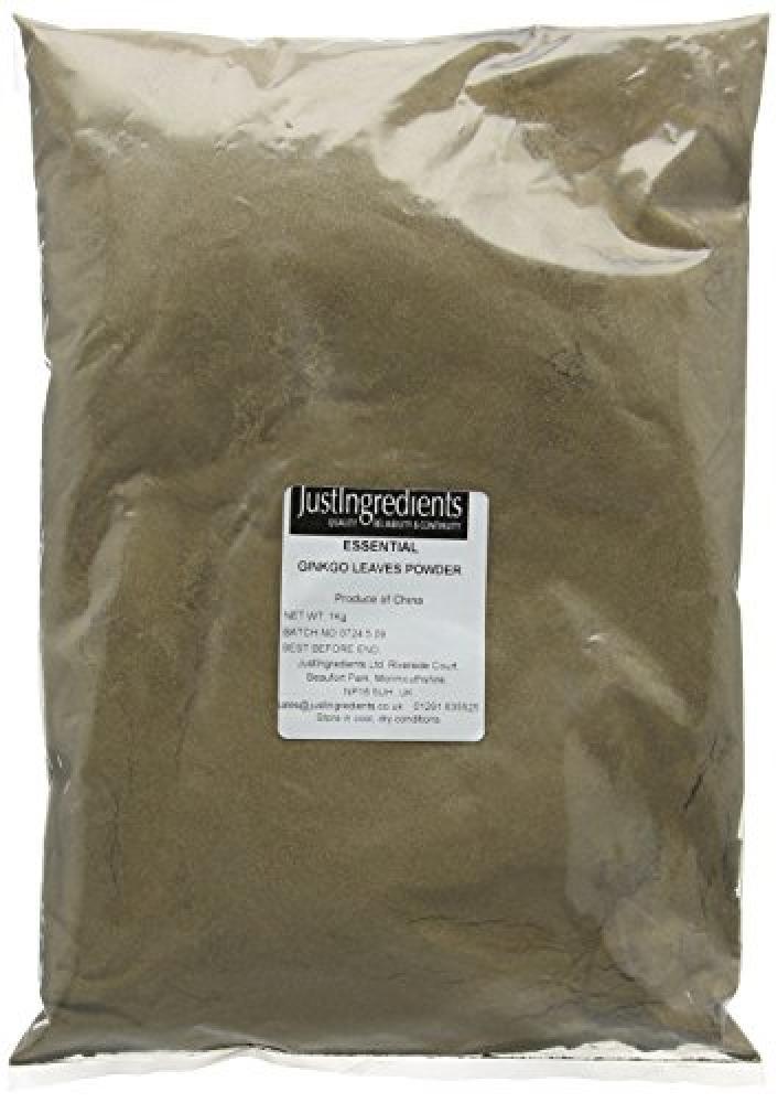 JustIngredients Essential Ginkgo Biloba Powder Maidenhair 1 Kg