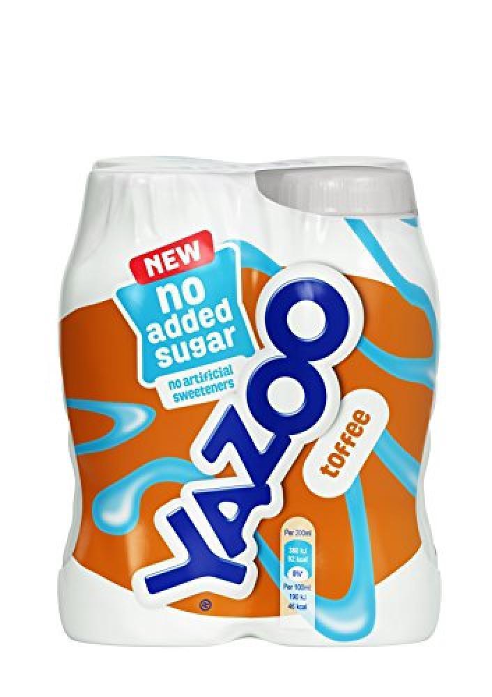 Yazoo Toffee Milkshake 200ml x 4