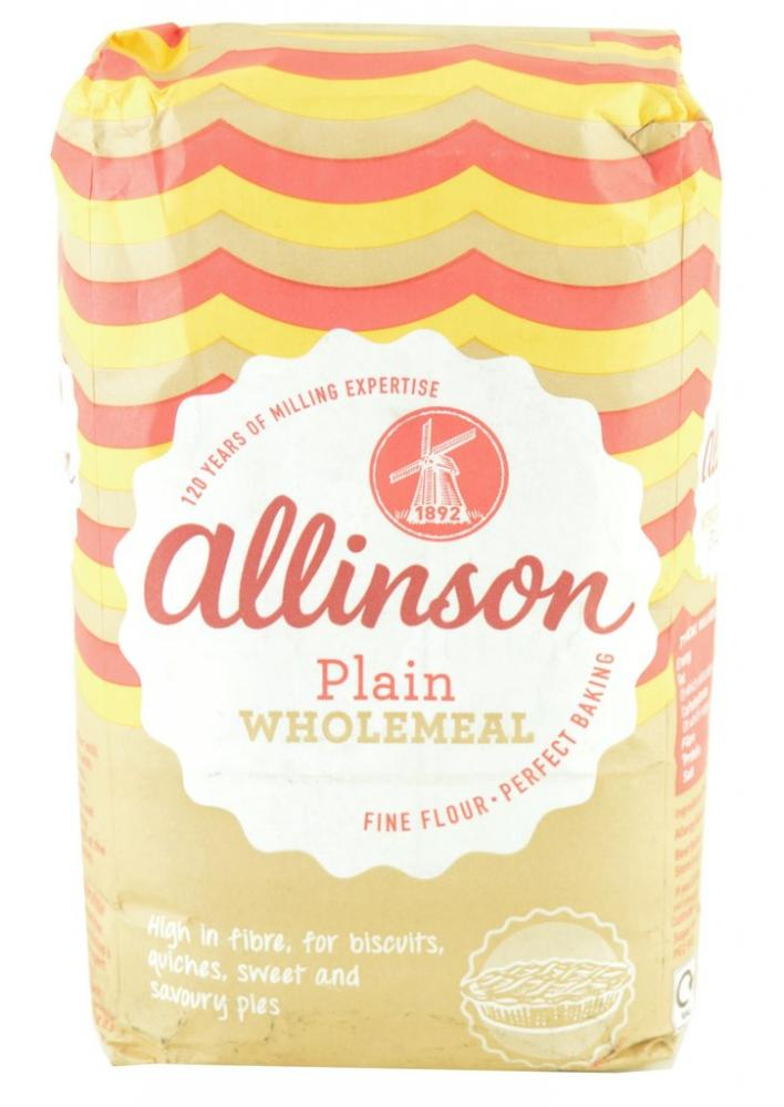 Allinson Plain Wholemeal 1kg