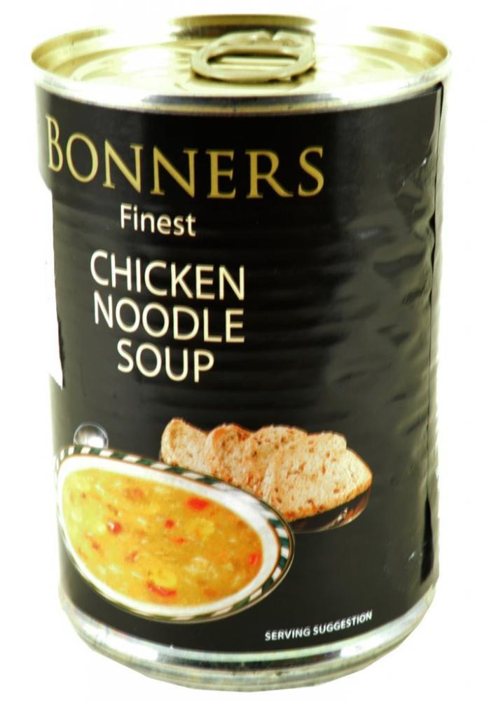 Bonners Finest Chicken Noodle Soup 400g