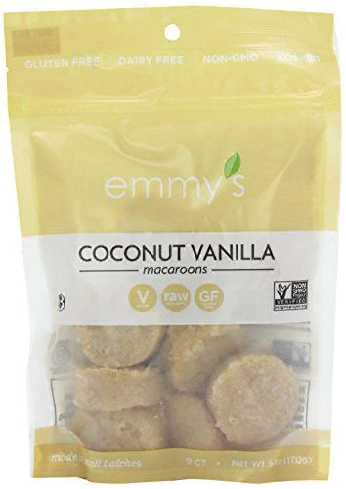 Emmys Gluten FreeCoconut Vanilla Macaroons 170 g