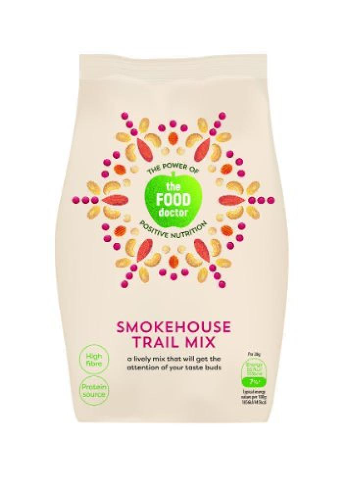 The Food Doctor Smokehouse Trail Mix 110g
