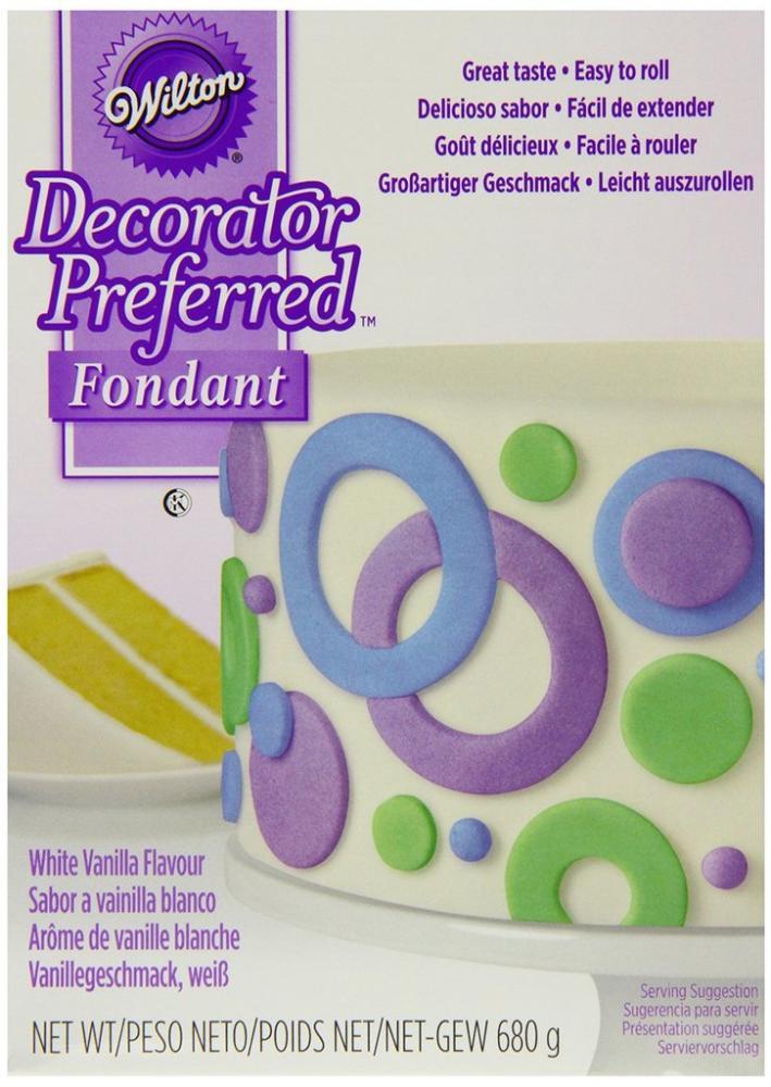 FURTHER REDUCTION  Wilton Decorator Preferred Fondant 680g