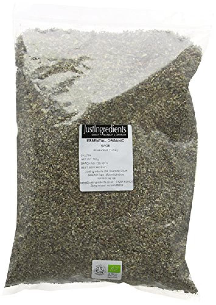 JustIngredients Essential Organic Sage Loose 500g