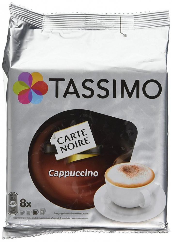 Tassimo Carte Noire Cappuccino 8s
