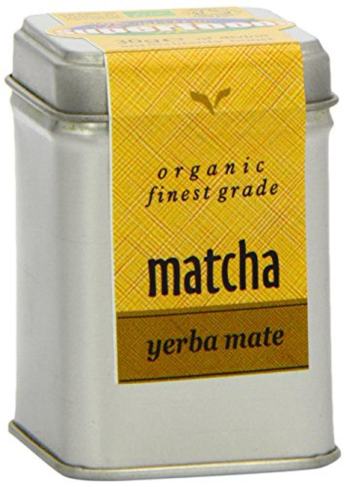 Of The Earth Superfoods Organic Finest Grade Matcha Yerba Mate Tea 30 g