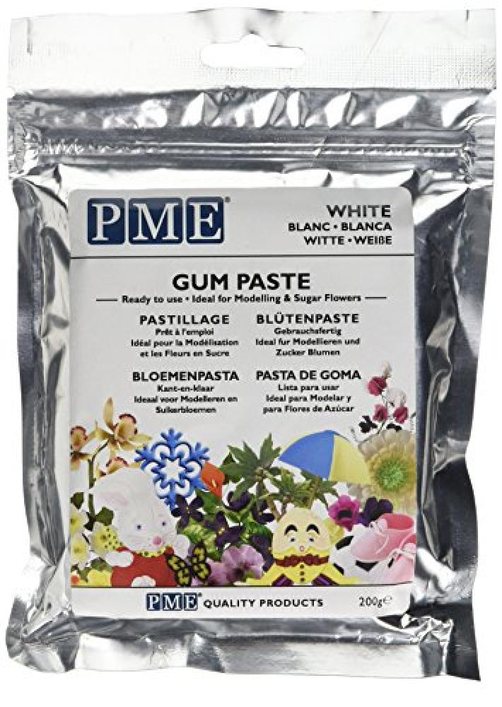 PME Ready to Use White Gumpaste 200g