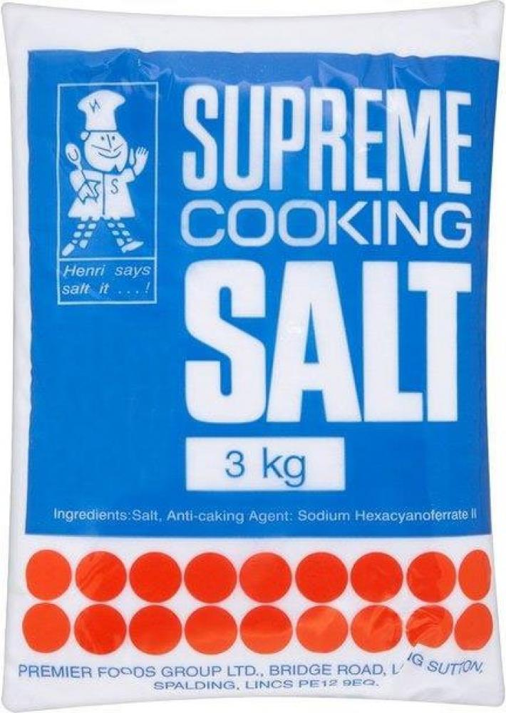 Supreme Cooking Salt 3kg