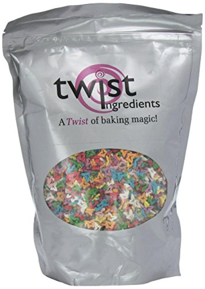 FURTHER REDUCTION  Twist Ingredients Multicoloured Butterflies 700 g