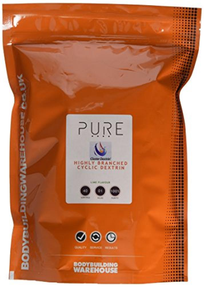 Bodybuilding Warehouse Cluster Dextrin Pure Highly Branched Cyclic Dextrin Powder Lime 1kg