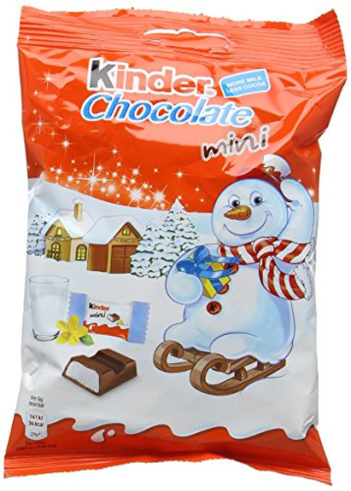 Kinder Chocolate in Mini Bag 78g