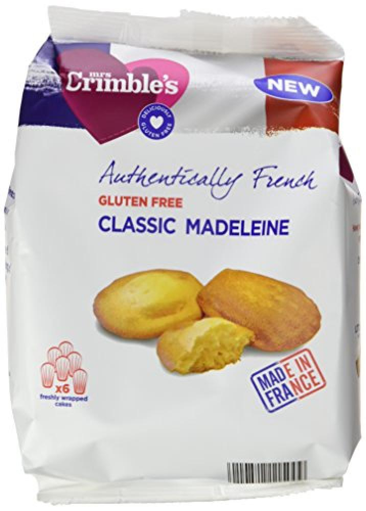 Mrs Crimbles Authentically French Classic Madeleines 180 g