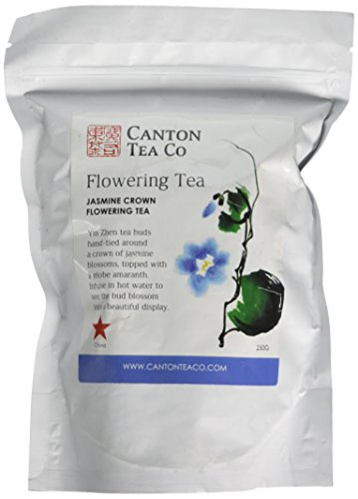 Canton Tea Jasmine Crown Flowering Tea Foil Bag 250 g