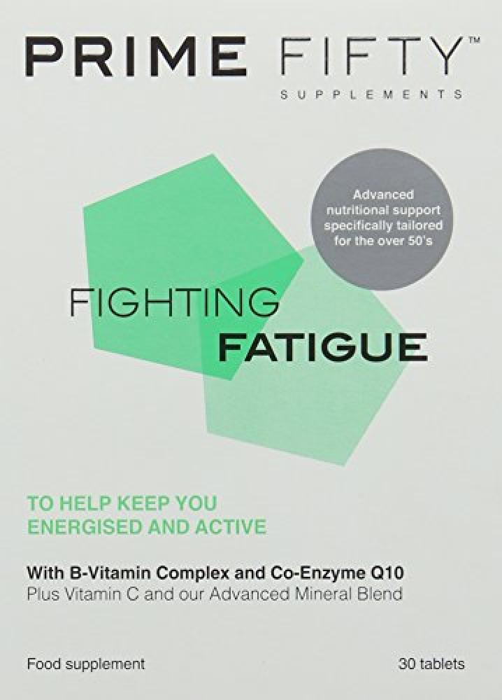 Prime Fifty Fighting Fatigue Tablets - Pack of 30