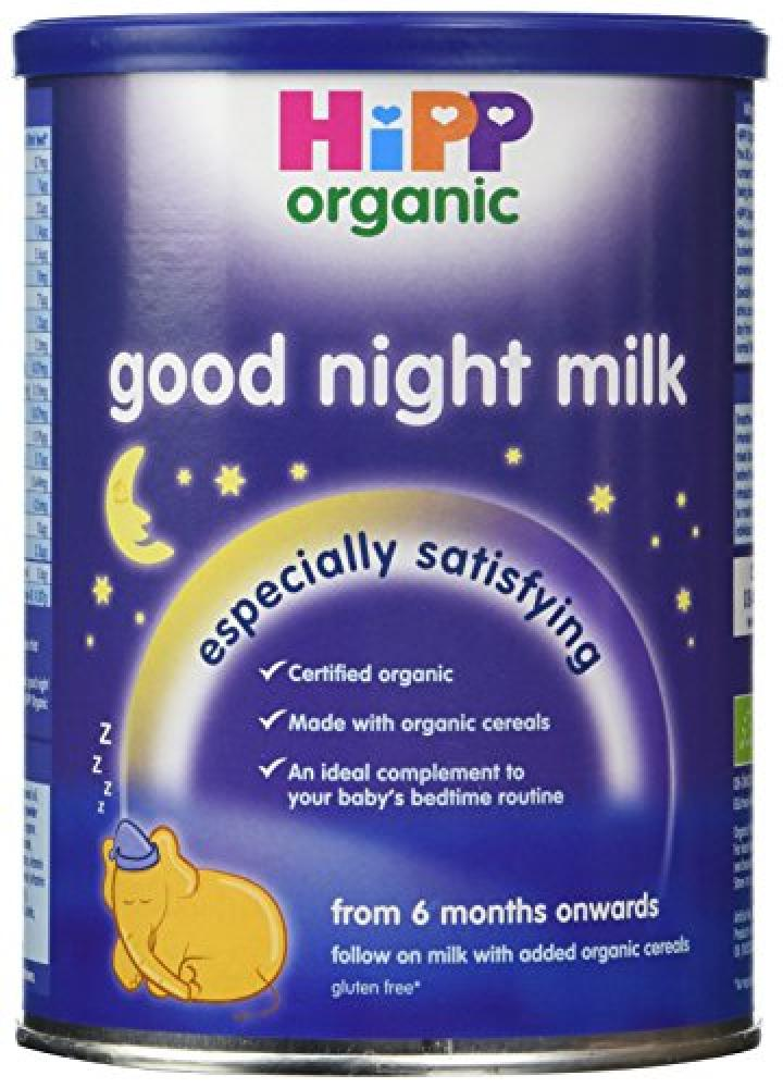 Hipp Organic From 6 Months Good Night Milk 350 g