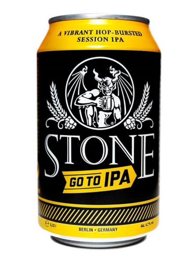 Stone Brewing Go To IPA Beer Can 330ml