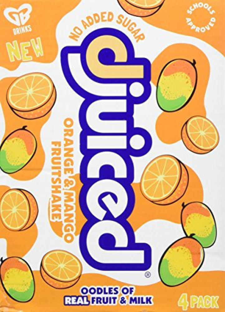 D-juiced Orange and Mango Fruit Shake 180 ml