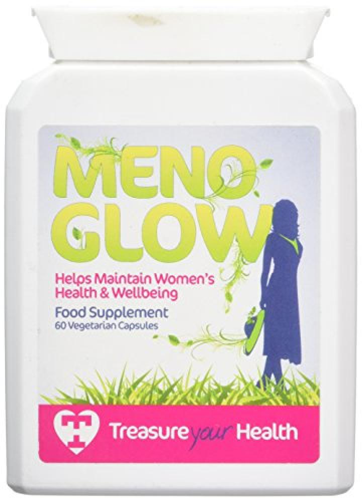 Treasure Your Health MenoGlow Capsules for Menopause Support Pack of 60
