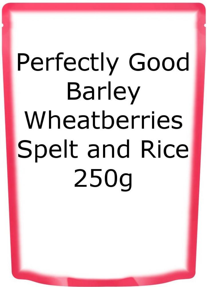 Perfectly Good Barley Wheatberries Spelt and Rice 250g