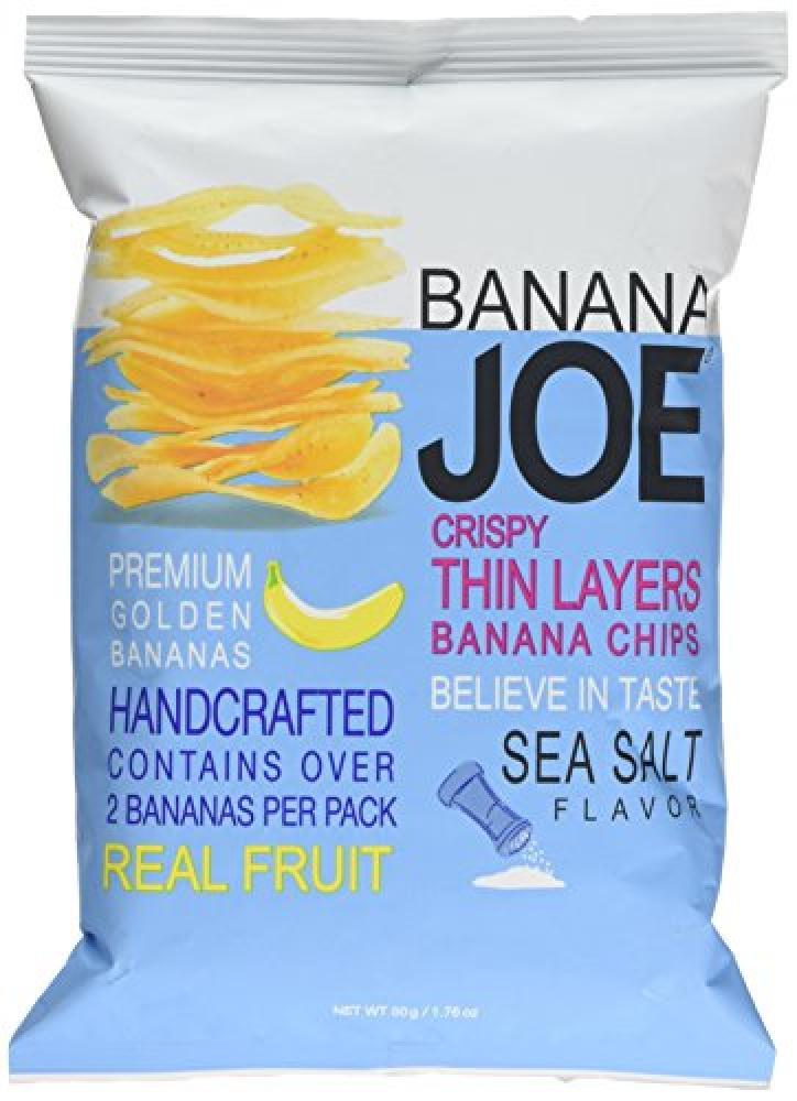Banana Joe Sea Salt Banana Chips 50g