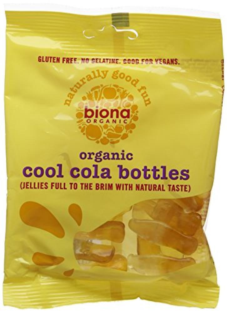 Biona Organic Cool Cola Bottles 75 g