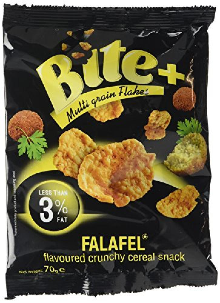 Bite Plus Falafel Flavoured Cereal Snack 70g