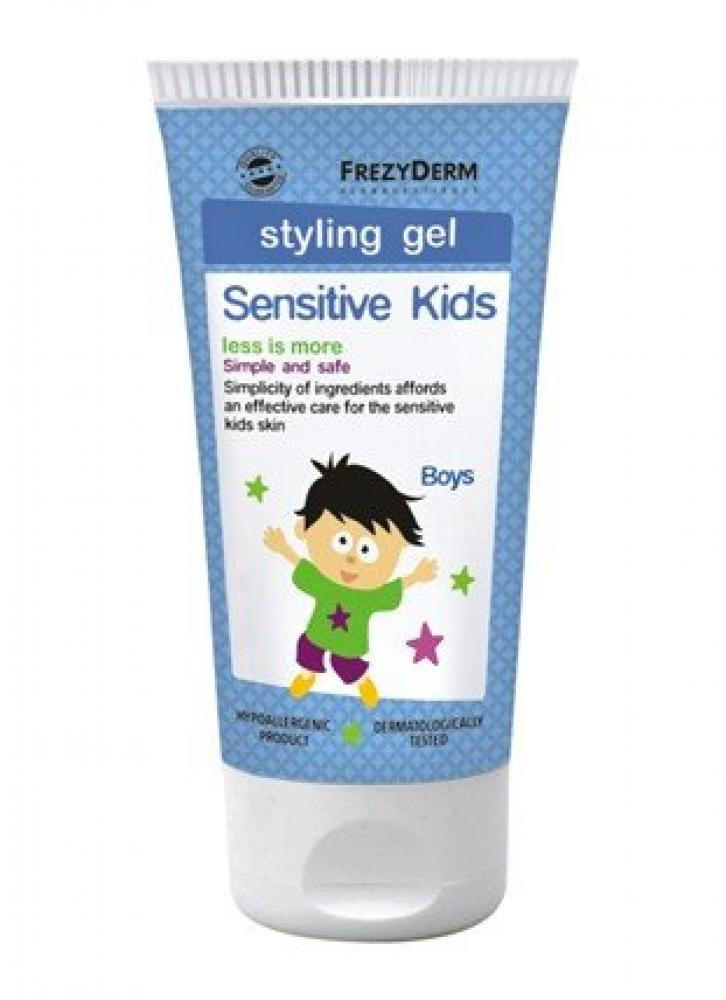 FrezyDerm Sensitive Kids Styling Gel 100ml