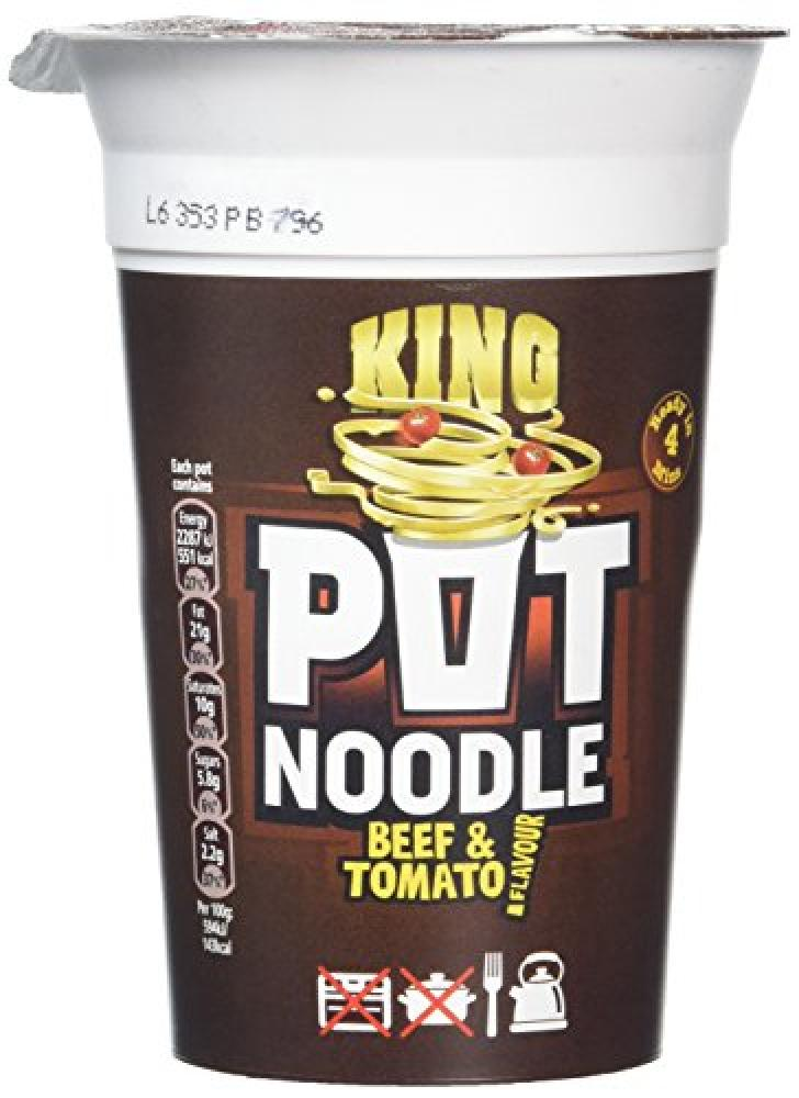 Pot Noodle Beef and Tomato 114 g