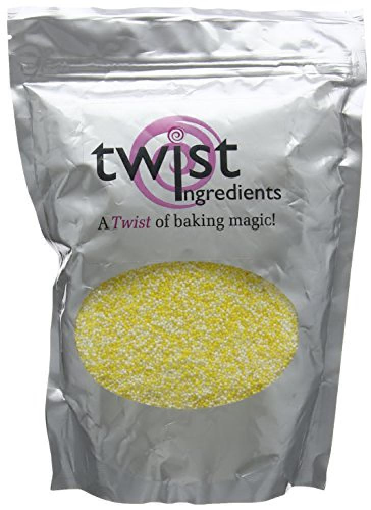 Twist Ingredients Yellow and White Hundreds and Thousands 1 kg