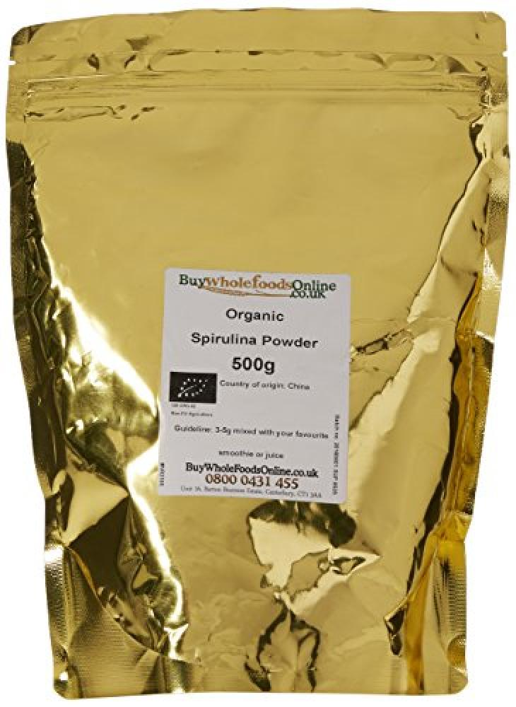 Buy Whole Foods Organic Spirulina Powder 500g