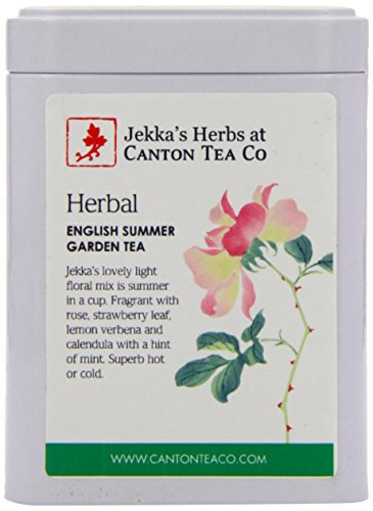Canton Tea Jekkas English Summer Garden Tea 25 g