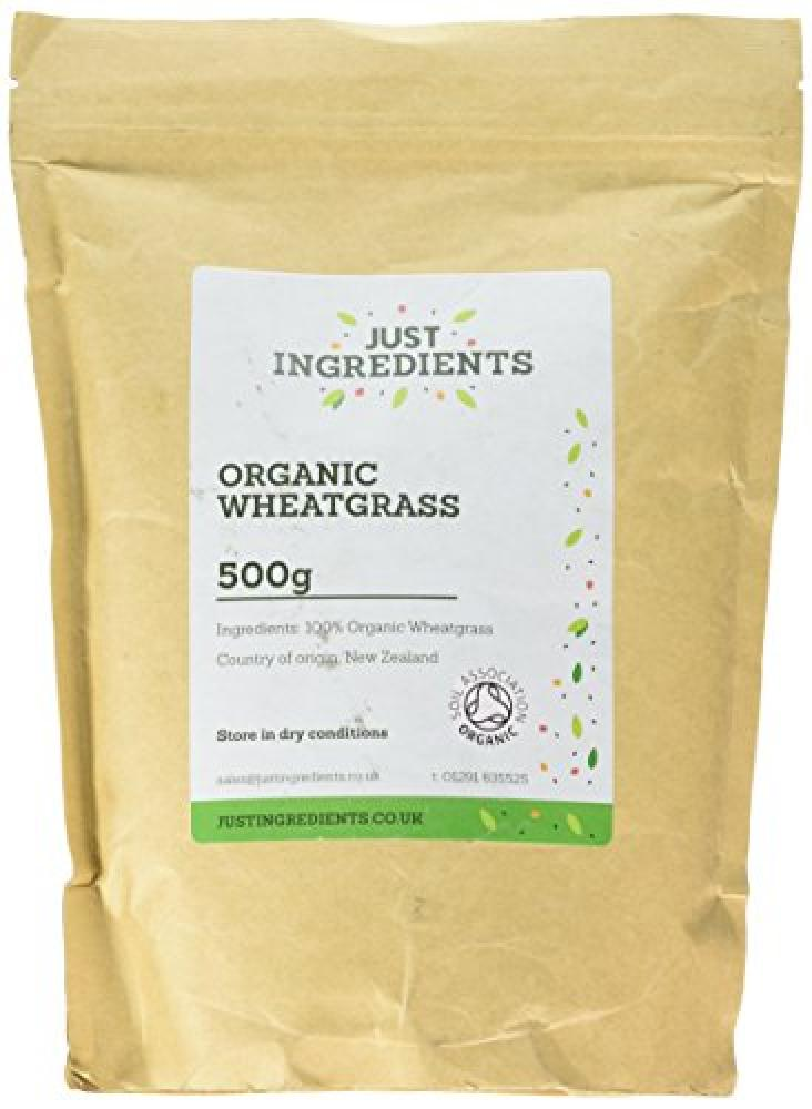 Just Ingredients Organic New Zealand Wheat Grass 500 g