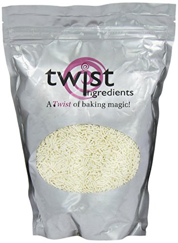 Twist Ingredients Jumbo Pearl Sprinkles White 1 kg