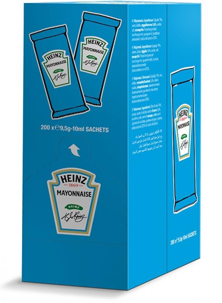 CASE PRICE  Heinz Mayonnaise 10ml x 200