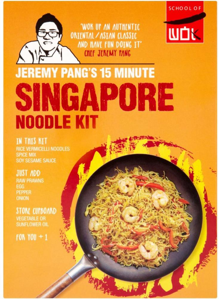 School Of Wok Jeremy Pangs 15 Minute Singamore Noodle Kit
